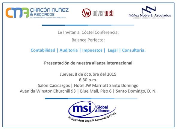 Presentación alianza internacional